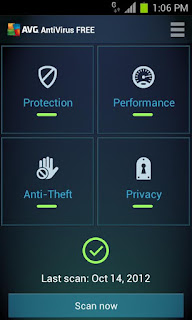 Antivirus untuk Android Gratis - AVG AntiVirus Security - FREE