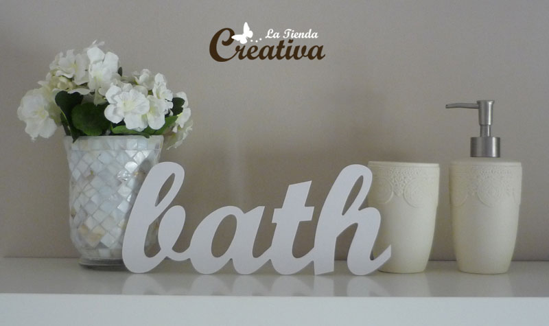 Decoracion Letras Pared ~  Letras para decorar y mucho m?s Letras para decorar  Bath