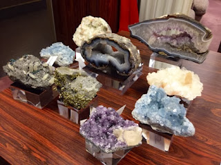 luxury home, Dallas, crystal mineral specimens