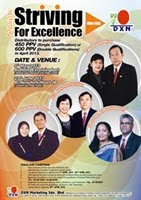 Seminar : Striving For Excellence with DXN (05th May 2013 &amp; 23rd June 2013)