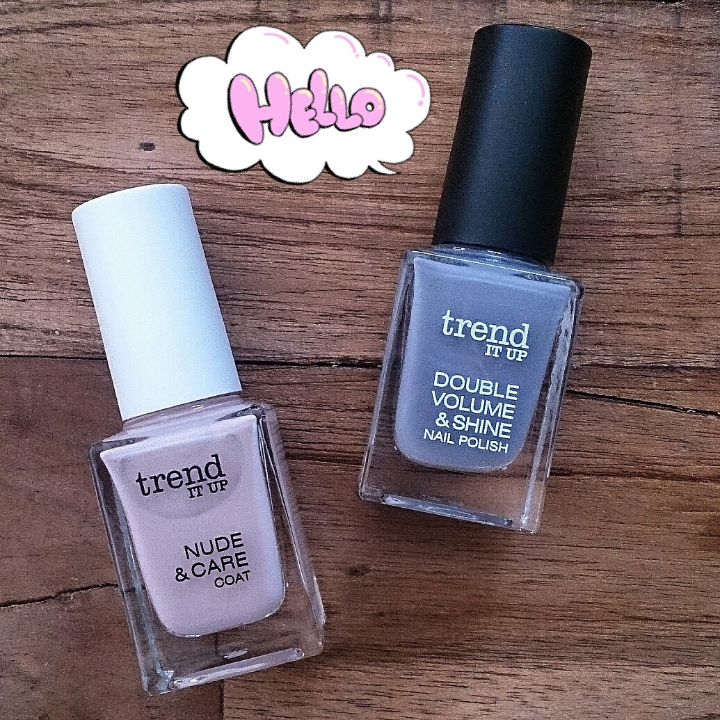 girlietrash: nail of the day: nude & care coat [trend it up]