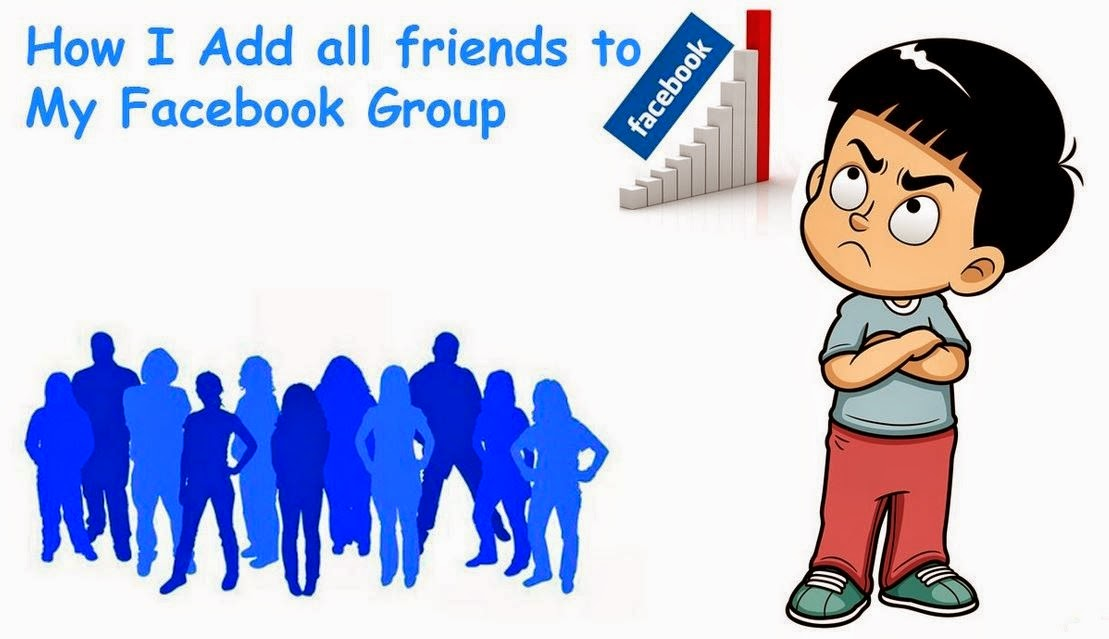 Add Friends to Facebook Group on Single Click