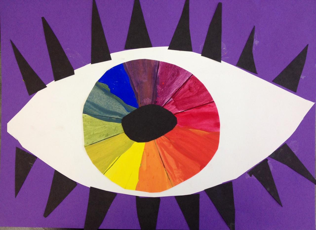 Art At Hosmer Color Wheel Eyes