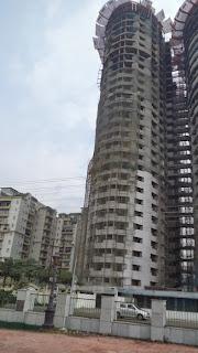 Apex Tower :: Construction Status on April 2014