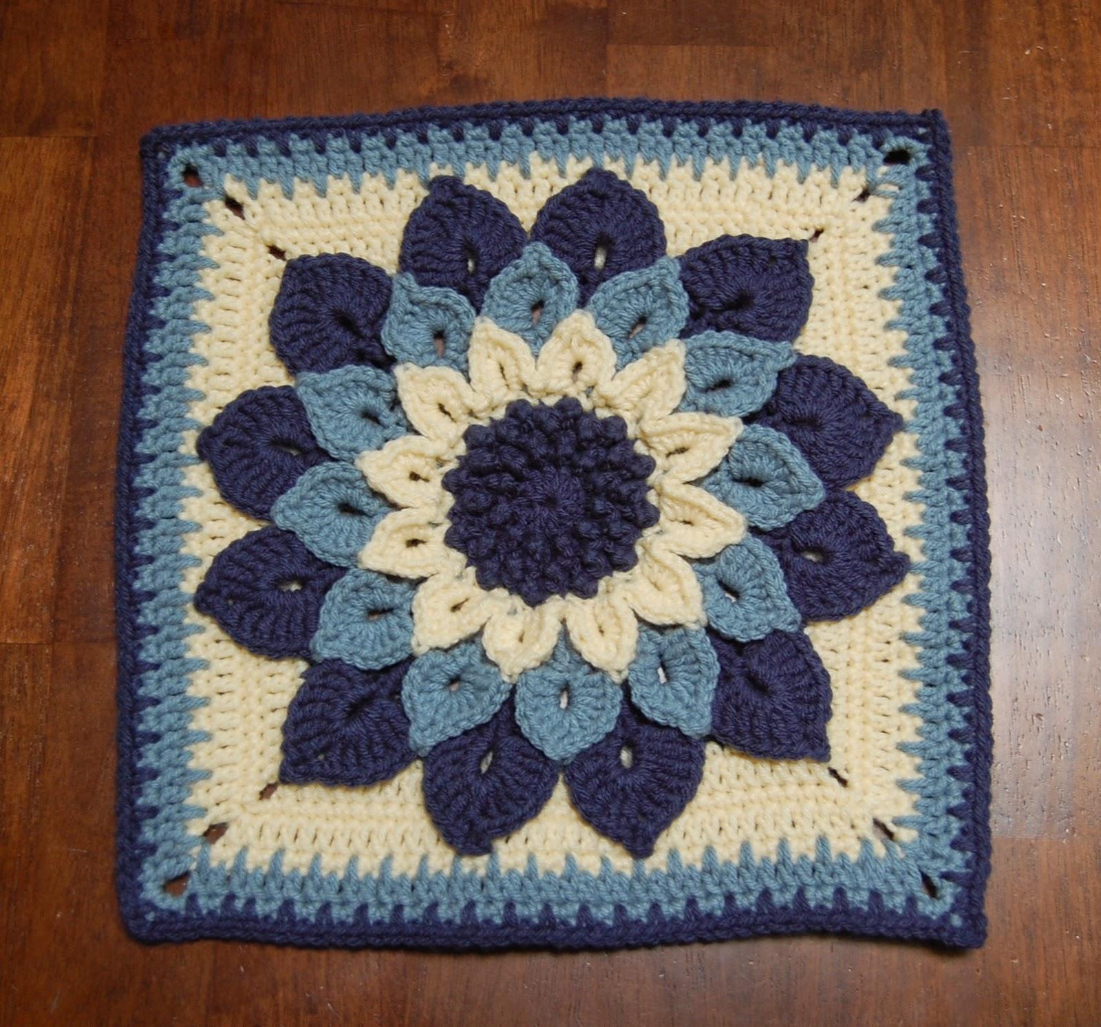 Roonie Ranching: Update: Moogly Afghan Crochet-a-Long