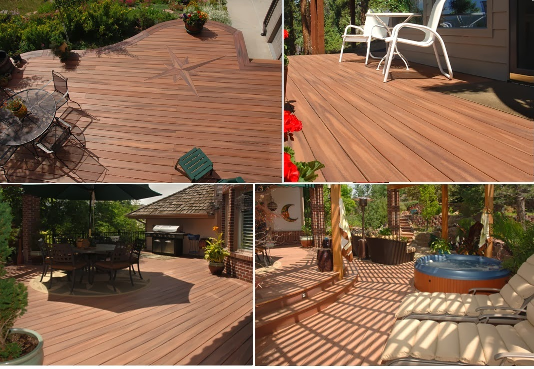 Habitat inside remodelaciones interiores Pisos de madera para jardines exteriores