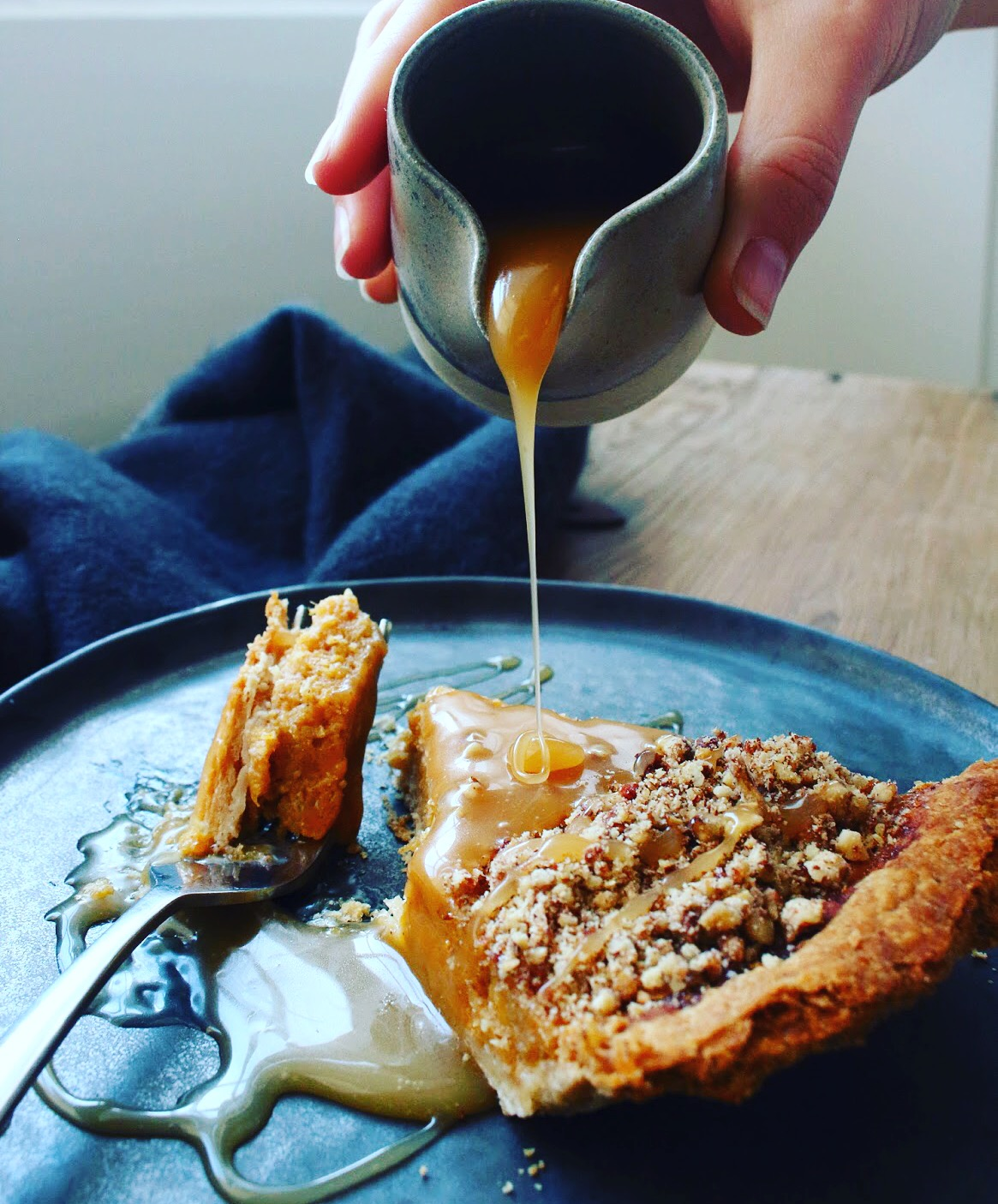 Spiced Squash Pumpkin Pie