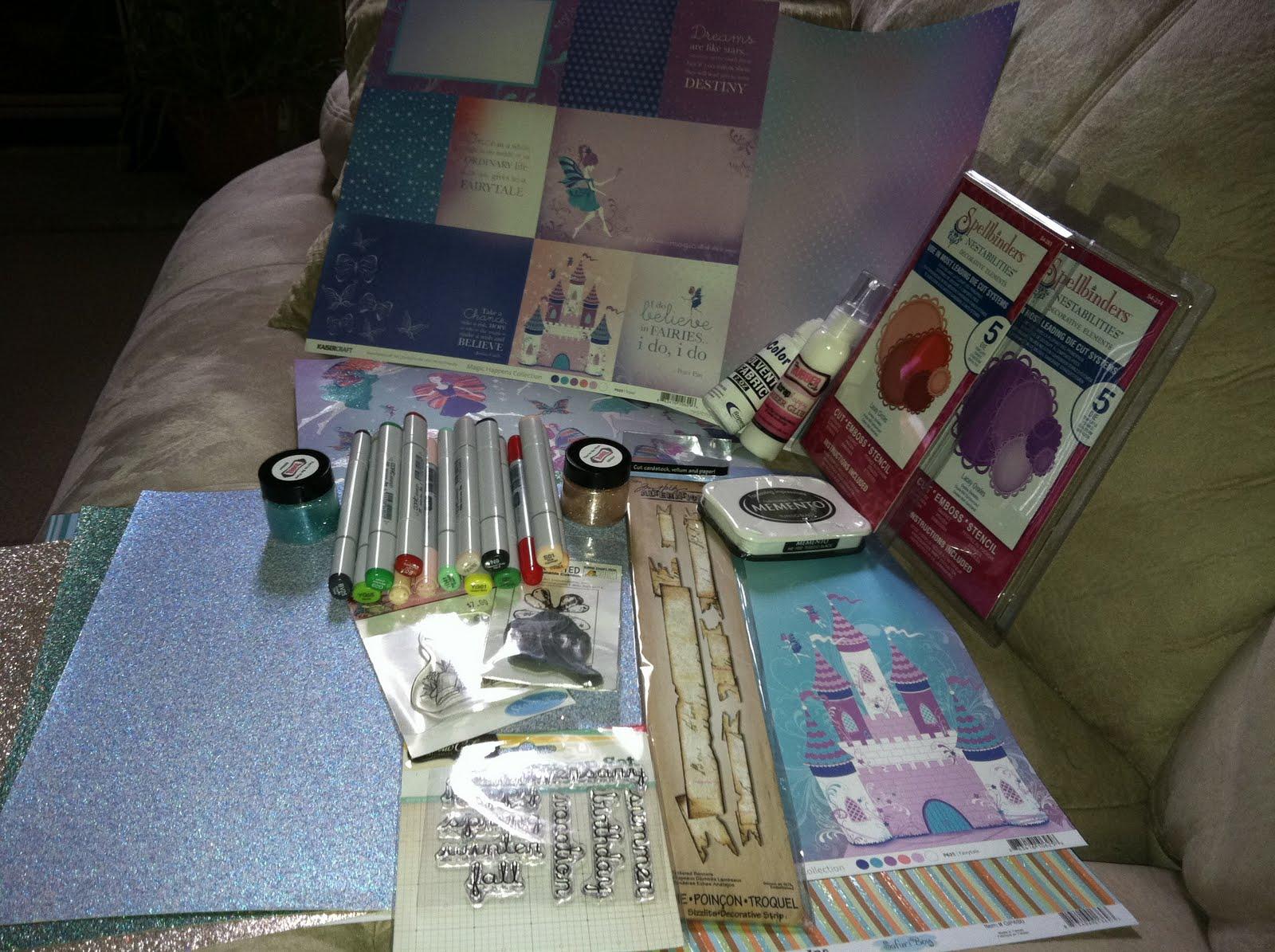 Michelles Mbellishments Scrapbook Expo 2011 And Michaels Has Copics