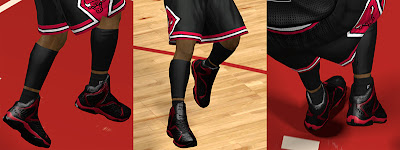 NBA 2K13 And1 Basketball Shoes Empire Mid Patch