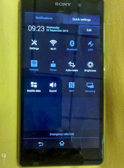 Sony, Sony Xperia Z2, Xperia Z2