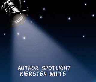 Kiersten White Author Spotlight/Giveaway