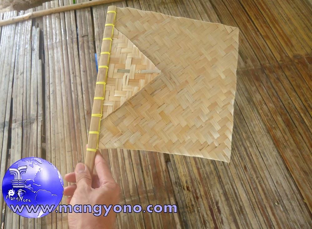 Hihid / Kipas bambu bisa juga untuk AC alami