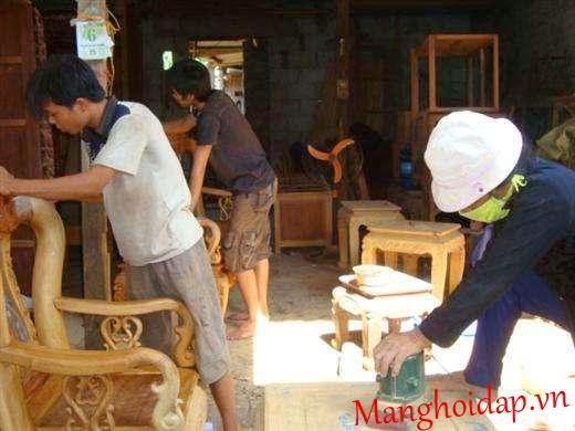 sơn sửa đồ gỗ tại nhà tphcm
