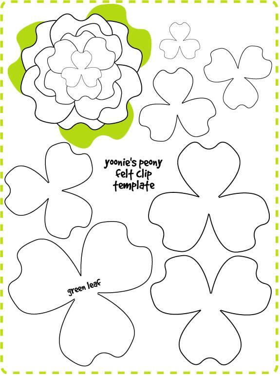 Moldes de rosa para imprimir - Imagui
