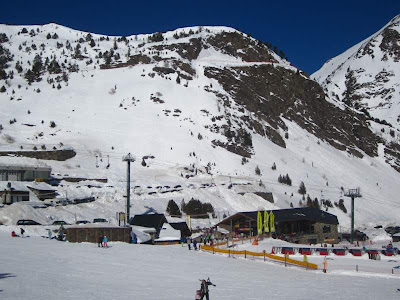 Arcalís ski resort in Andorra Vallnord