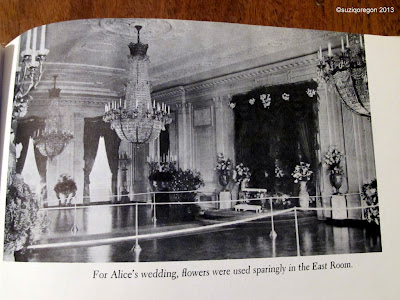 East Room decorated for Alice Roosevelt's wedding