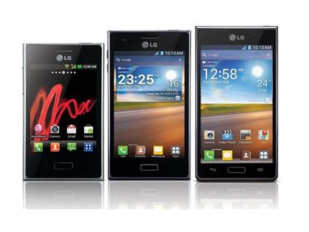 LG Optimus L3, L5, L7