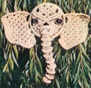 Схема плетения слона при