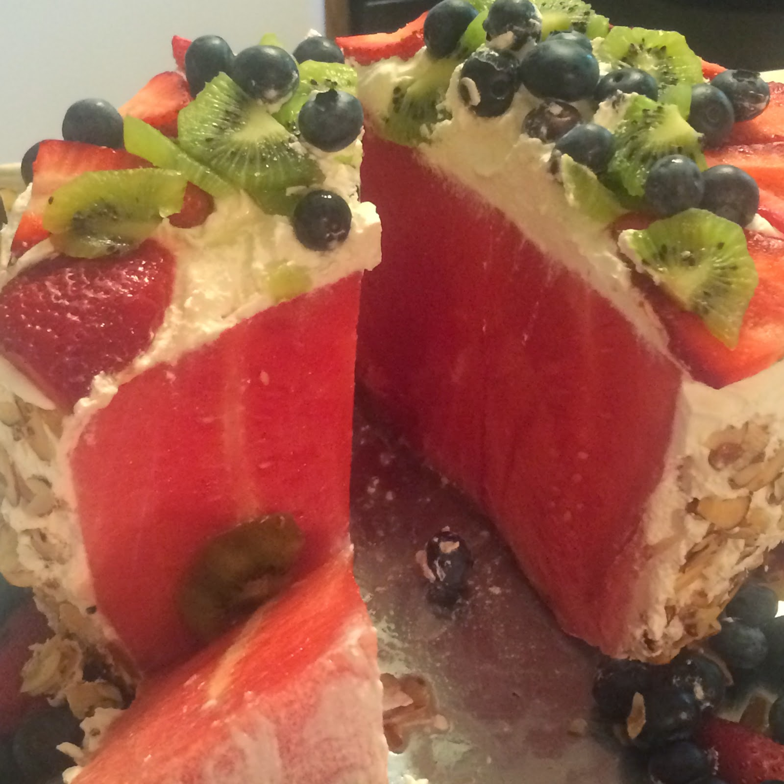 The petite, merci: A watermelon cake that will be the talk of any ...