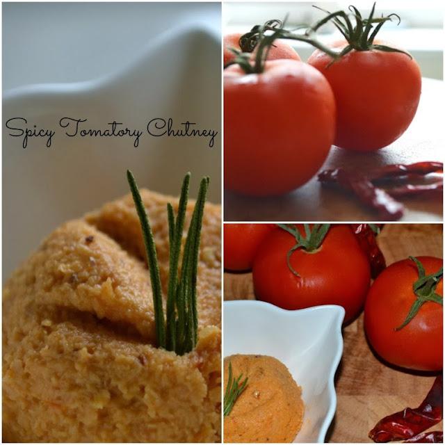 Tomato Chutney collage