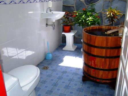 Comfort With Outdoor Bathroom Design - Lib and Learn