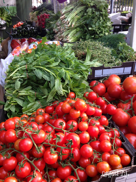 Fresh Vegetables at Orange Grove markets