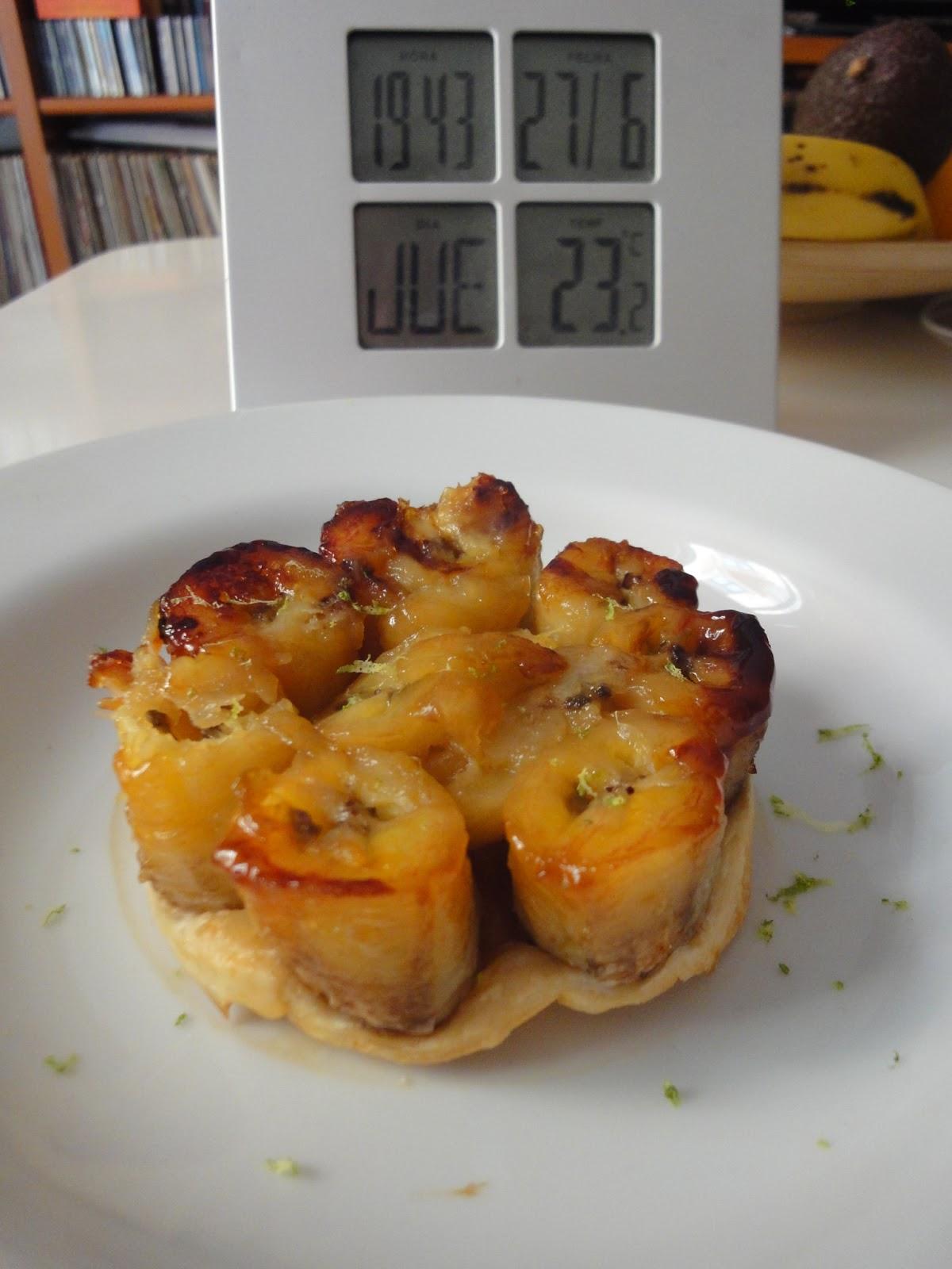 Clases de cocina zaragoza tarta tatin de pl tano - Cursos de cocina zaragoza ...