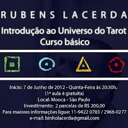 Curso de Tarot com Rubens Lacerda