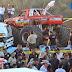 Monster truck mata a 13 en aeroshow en Chihuahua
