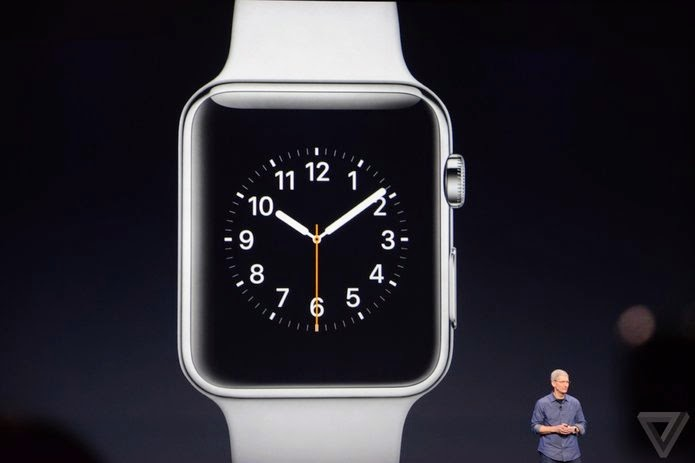 Apple announces the Apple Watch in 3 different models and two sizes