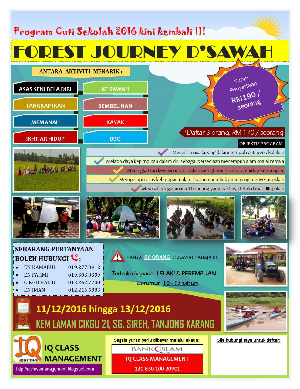 FOREST JOURNEY D'SAWAH