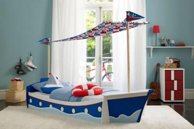 habitación infantil estilo marinero