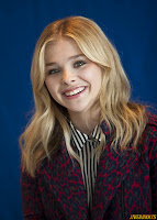 Chloe Grace Moretz Dark Shadows Press Conference portraits by Armando Gallo