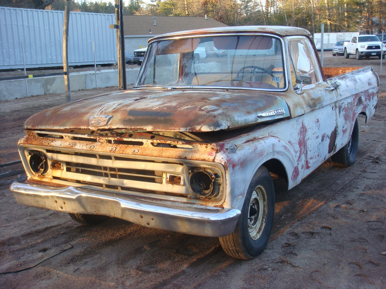 62 f100 unibody custom autos weblog for Garage ford 62