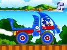 Sonic Mavi Kamyonu Oyunu