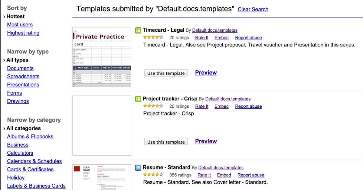 10 Excellent Google Drive Templates for Teachers