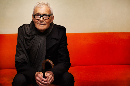 Vidal Sassoon, photo by Henryk Lobaczewski