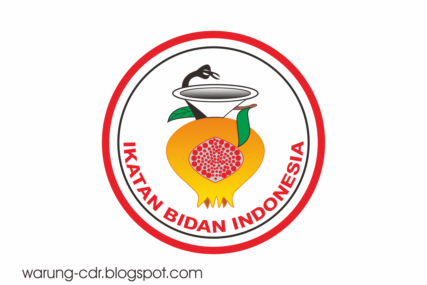 download logo ikatan bidan indonesia ibi vector warung cdr
