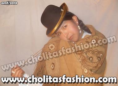 Lindísima Cholita Paceña: