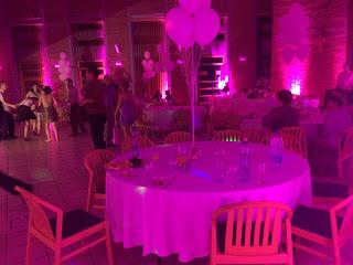 Led dekor világítás esküvőre