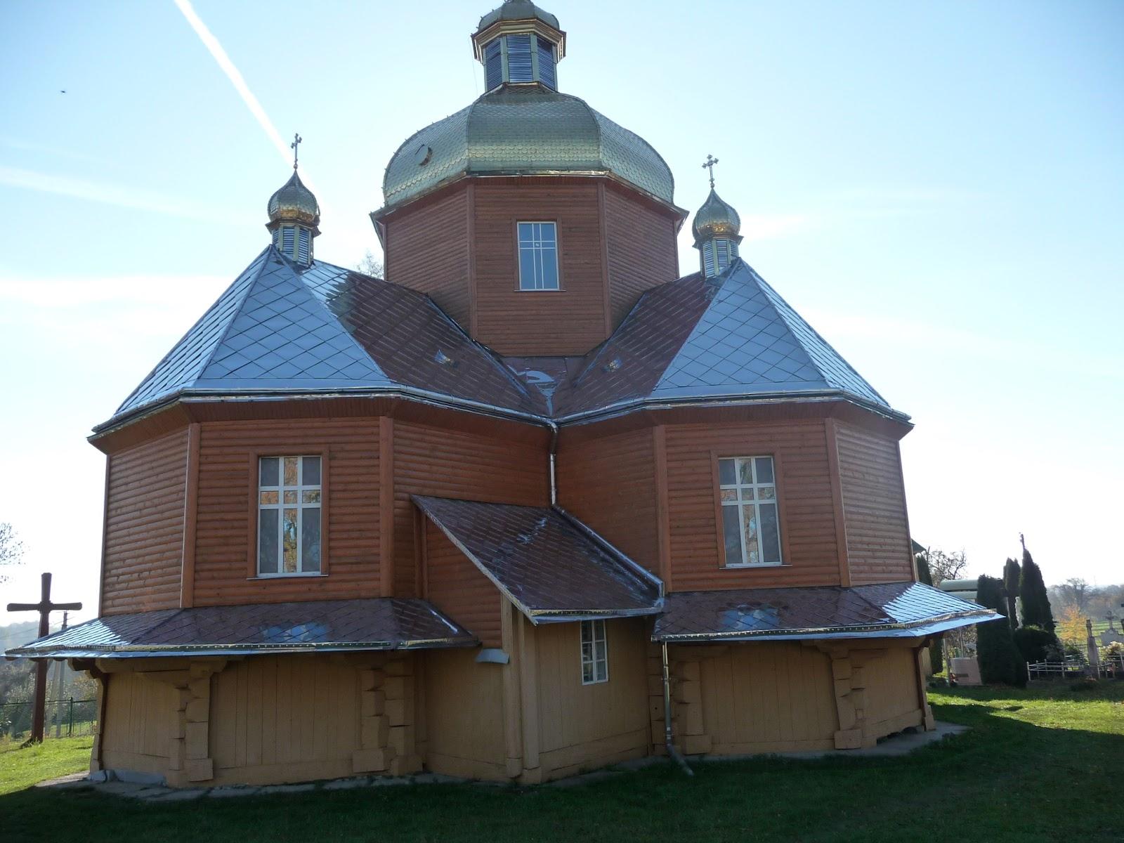 Добровляны Дрогобычского района. Церковь Покрова Пресвятой Богородицы