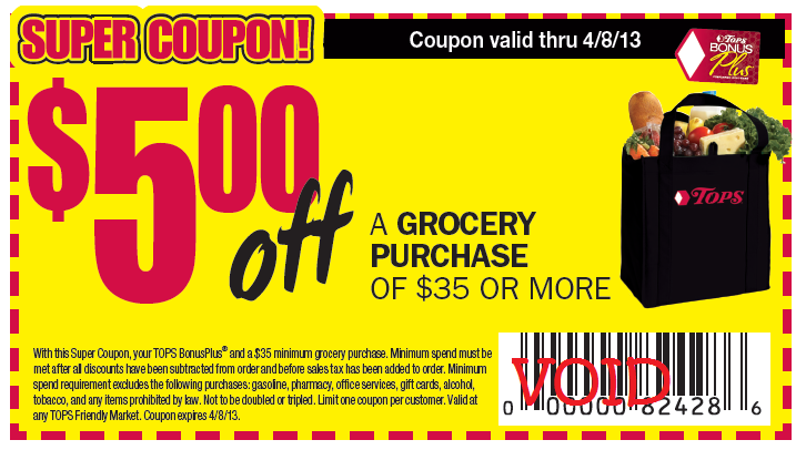 Never miss another coupon. Be the first to learn about new coupons and deals for popular brands like Tops Markets with the Coupon Sherpa weekly newsletters.
