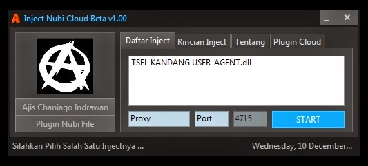 Inject Telkomsel Nubi Clod Beta v1.00 10 Desember 2014