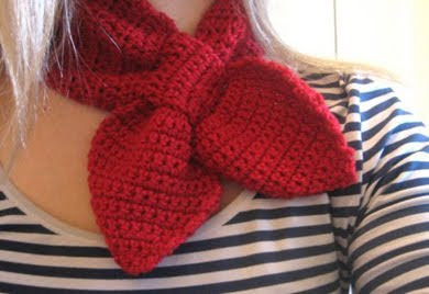 Free Crochet Pattern For Ascot Scarf : Thea & Sami: Winter Cosies