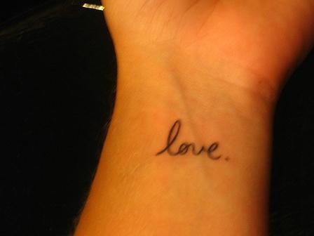 Womenfashion love tattoo designs for One love tattoo designs