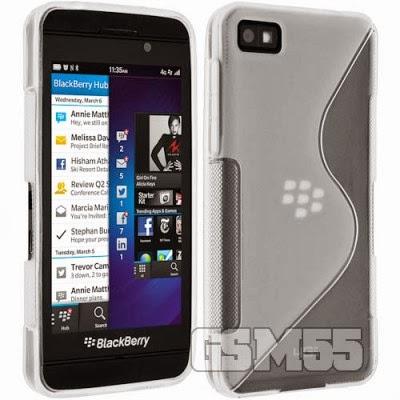 Protection avec coque S-Line pour BlackBerry Z30