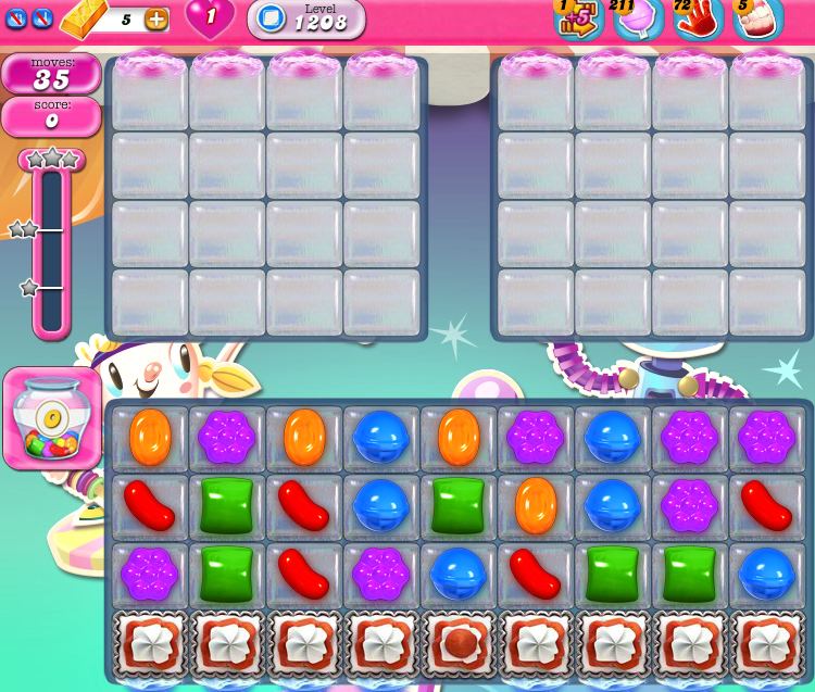 Candy Crush Saga 1208