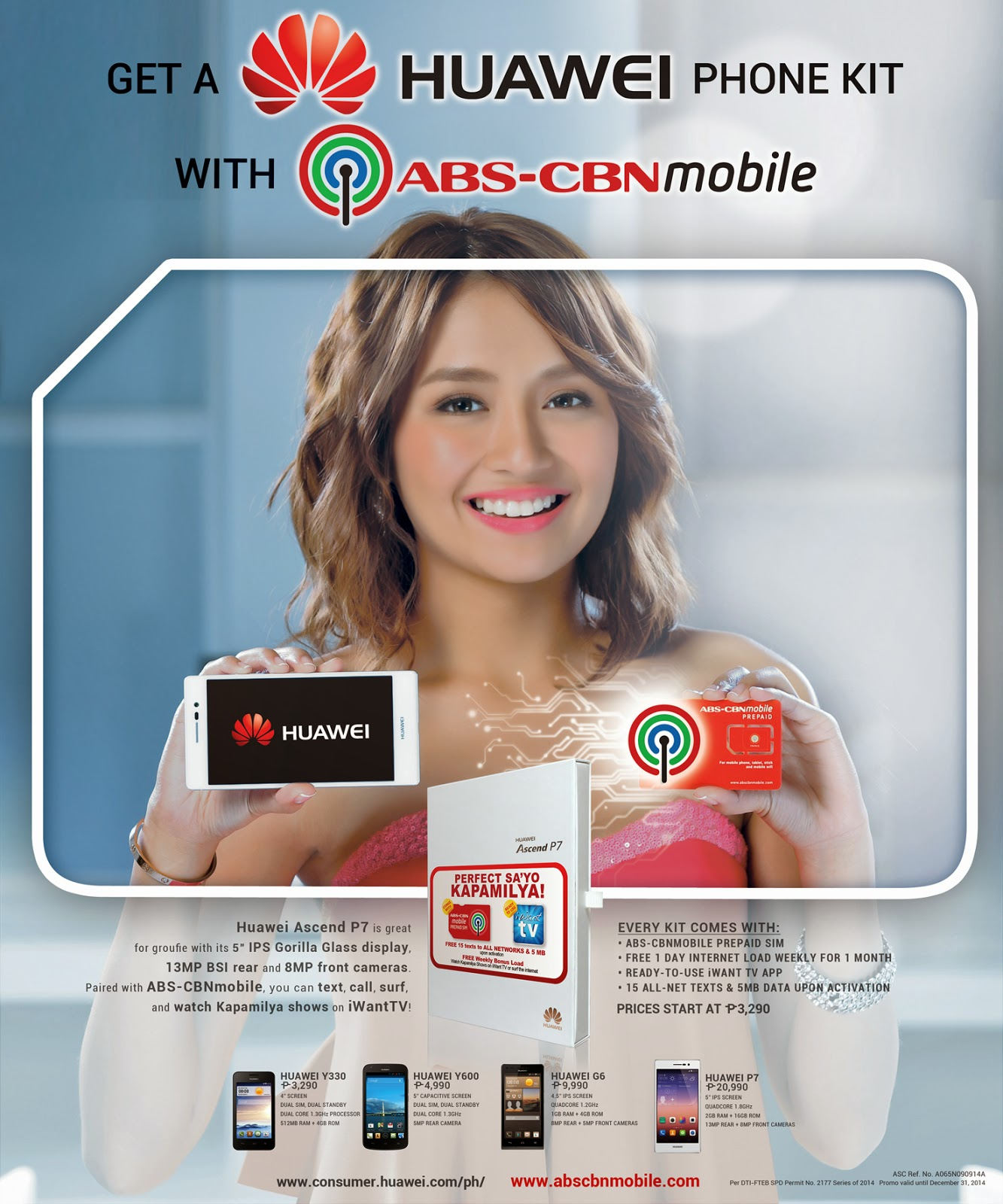 Kathryn Bernardo for ABS-CBNmobile