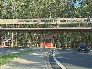 Curso de Introdução A Audiodescrição na UFSCar: fachada - campus São Carlos