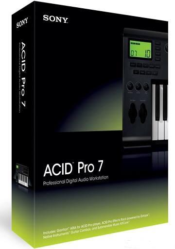 تحميل برنامج سونى اسيد برو Sony ACID Pro 7.0e Free لتحرير الصوت مجانا